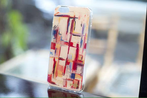 Coque Iphone Labyrinthe by Caroline Faindt