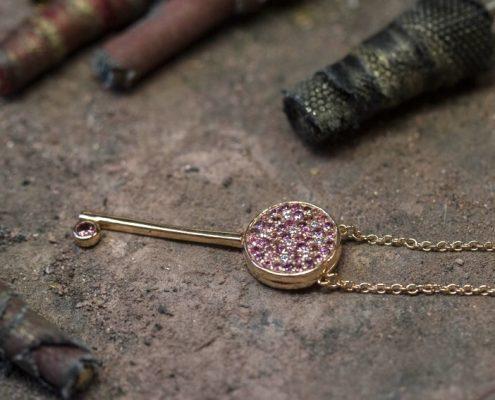 cle - collection bijoux collier ligne Amour