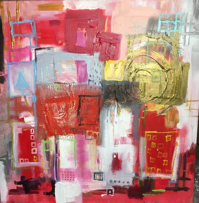 toile Journal intime - Caroline Faindt 2017