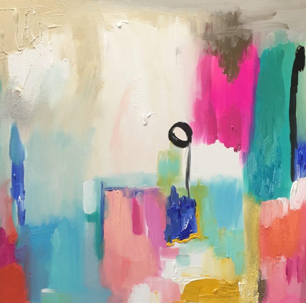 Meditation / toile Caroline Faindt