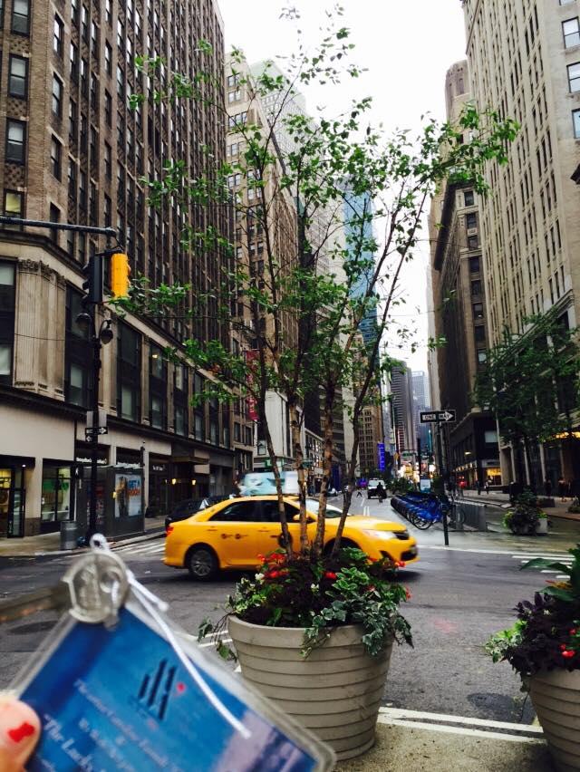 Une cle à New-York
