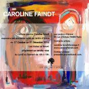 exposition Caroline Faindt - le jardin d'Artois